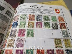 Major Foreign Old Stamps Collection, 7700+ Stamps, Statesman Album, many 1800's