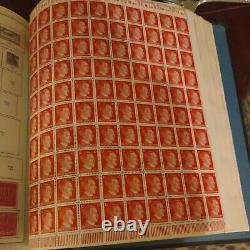 Mammoth worldwide stamp collection in minkus global album 1800s forward Very hcv