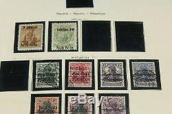 Massive Poland Stamp Collection 3 Full Schaubek Albums 1918-1973 withGems Amazing