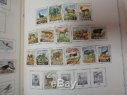 Minkus Supreme Global Stamp album 8 Volume collection 1840-1979 WW & US