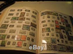 Minkus Supreme & Master Global Stamp Album set of 5 A-Z many stamps collection