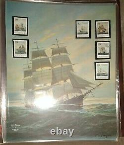 Mint Stamps Of The World Full Sheet Collection In Album, All Mint