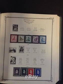 Netherlands & Colonies Collection 1852-1984 in Scott Specialty Album