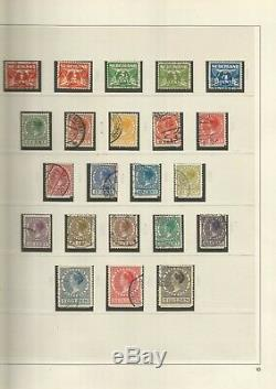 Netherlands Near Complete Used Collection In 5 X Safe Dual Albums 1852-2002