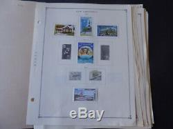 New Caledonia 1957-1978 Stamp Collection on Scott Intl Album Pages