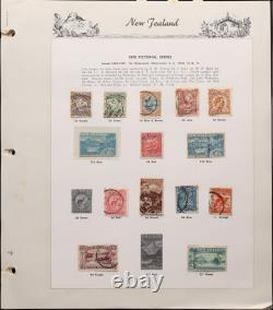 New Zealand 1855-1967 Collection in album. NZ retail $4600. (430)