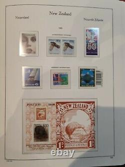 New Zealand 1967-97 Near Complete Collection of Stamps In 2 KaBe Albums MUH