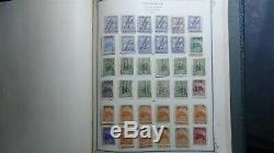 Nicaragua stamp collection in Scott Specialty album with 1,062 or so stamps to'73