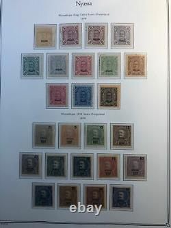 Nyassa Complete Mint Collection Incl. Inverts In Palo Album Best On Ebay