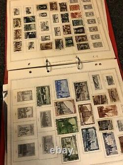 Old Russia, stamp collection on album page some rare items Total Stamps 1511