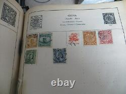 Old Strand Stamp Album With a World Collection of stamps