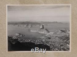 Original 1920s album BRAZIL RIO DE JANEIRO, with (18) stamped photos by EBE RIO