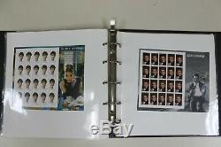 Over $660 Face Value Unused Mint Condition Collectible Stamps Album (V127)