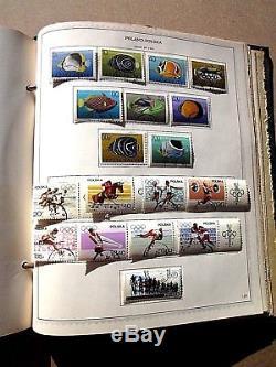 Poland Stamp Album Collection Minkus 1919 1969 630 Hinged