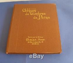 Perse Collection Timbres Neufs Et Obliteres 1870-1925 Dans Album D' Epoque