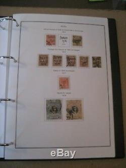 Peru 1862-1969 Collections- 500 in Stamp Album+218 on Pages