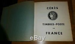 Philatelie Album Cérés France 797 Timbre De Collection lot rare