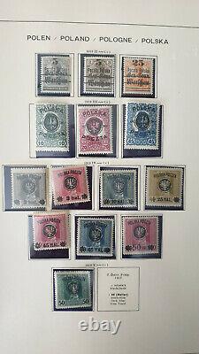Poland 1860-2002, Collection in 6 SCHAUBEK Albums #4631