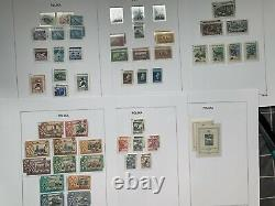 Poland 1944 To 1959 Complete Collection With Sheets, Surcharges In Davo Album