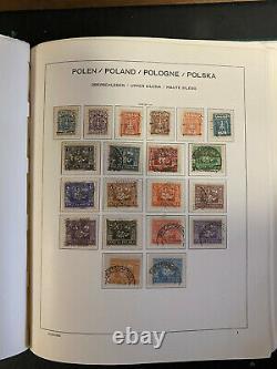 Poland Stamp Collection in Schaubek Hingless Album, 1860-1959, JFZ