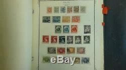 Poland stamp collection in Scott Specialty album with 1,125 or so stamps -'57