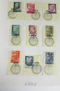 Portugal Stamp Collection in Album