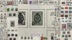 RUSSIA 1859/1989 Four Abria Printed Albums M&U Collection(1500+)10kg