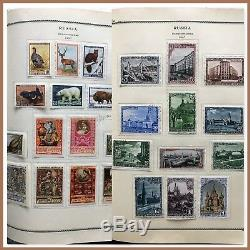 RUSSIA. Collection of used stamps mounted in album. 1939-1958. (BI#BDR/180909)