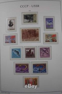 RUSSIA Complete MNH 1960-1991 Stamp Collection Lighthouse Albums with Imperforated