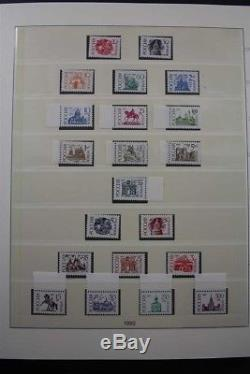 RUSSIA Premium MNH 1992-2015 Stamp Collection with Definitives 6 Lindner Albums