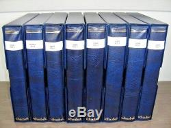 RUSSIA, Superb MINT(much is NH)Stamp Collection in a 8 Vol Schaebek album withcase