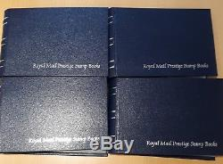 Royal Mail GB Presitge Stamp Books Collection in albums Mint 1969 to 2014