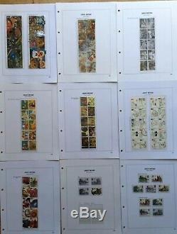 Royal Mail Hingeless Stamp Album in Slip Case With 1991-1999 Collection