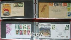 S2211 Singapore Singapore Over 600 FDC 1949 2012 Collection IN 14 Albums