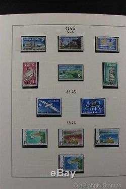 SAMOA MNH Premium Stamp Collection Lindner Album 1962-2014 Great TOPICAL