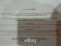 SCOTT International 2 Jumbo Volume Stamp Album collection Part 5 1960-65 Unused