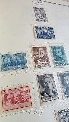 SCOTT SPECIALITY POLAND STAMP COLLECTION ALBUM Rare in this condition