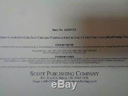 SCOTT Specialty US Revenue Stamp Collection album pages 3 ring Parts I&II UNUSED