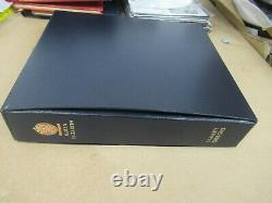 SG Davo QEII album with practically complete mint stamps collection 1952-1995