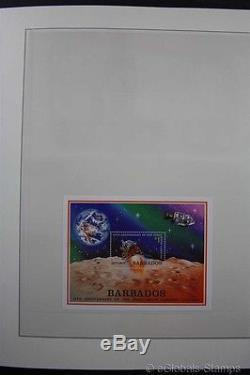 SPACE AMERICAS + OCEANIA TAAF MNH Stamp Collection 9 Albums 2 Box USA Sheets