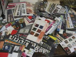 STAMPS MASS COLLECTION PRESENTATION PACKS 1982-2012 COMMEM DEFIN +3album FV£1049