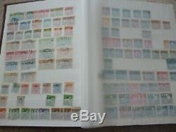 SWEDEN 1855-1970s Excellent Stamp Collection In Album Over 1400 Old stamps