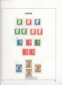 SWEDEN 1858/1989 M&U Davo Album Collection(Appx 1500)ALB524