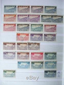 Sammlung Französische Kolonien Africa French Colonies Album Collection