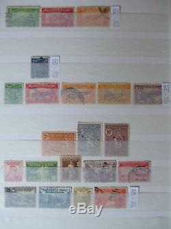 Sammlung Philippinen, Brunei Philippines Album Collection 1060 diff. Stamps