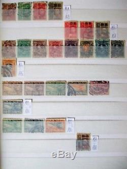 Sammlung Siam Thailand, Birma British Colonies Album Collection