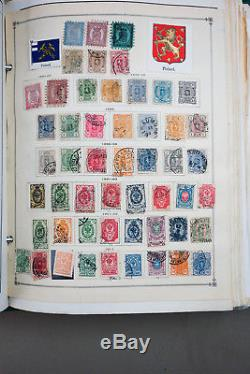Scandinavia Stamps 1000s x Collection 1800s-1980s in Album