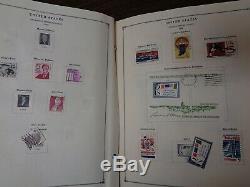 Scott International 3 Volume Stamp Album Collection 1964-72