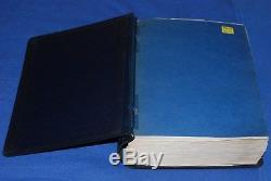 Scott International Blue Stamp Collection Album 1977 A-Z