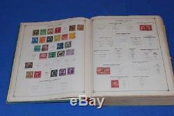 Scott International Jr Postage Stamp Album Collection Blue 1933 ed 2500 Stamps